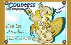 Countess the EcoGryph Badge