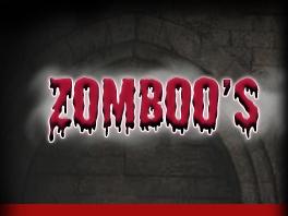 Zomboo's House of Horror Movies Logo